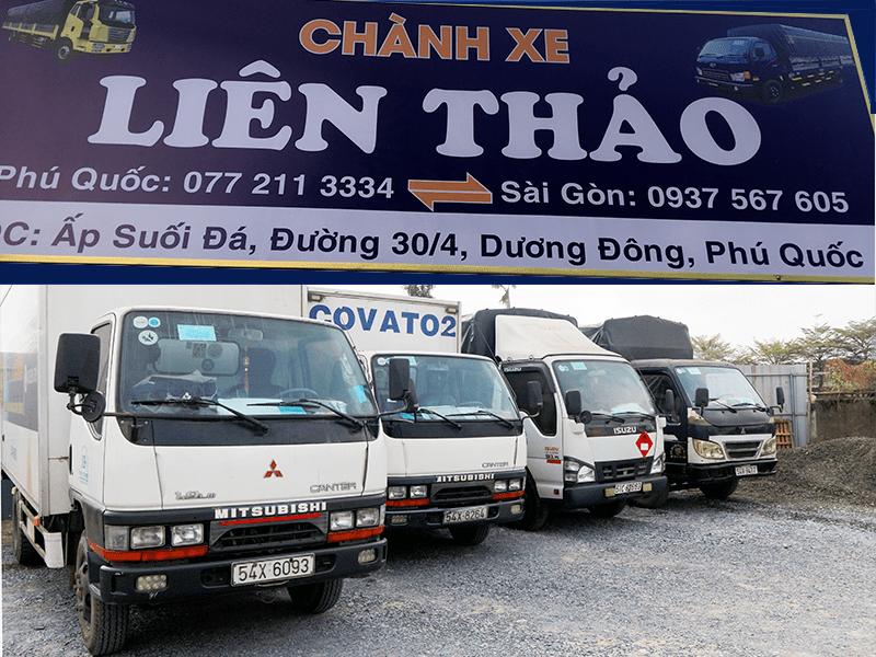 chành xe từ Hồ Chí Minh Phú Quốc