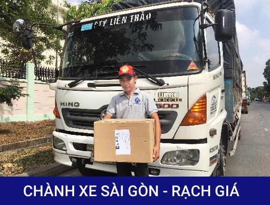 Chành xe Sài Gòn Rạch Giá