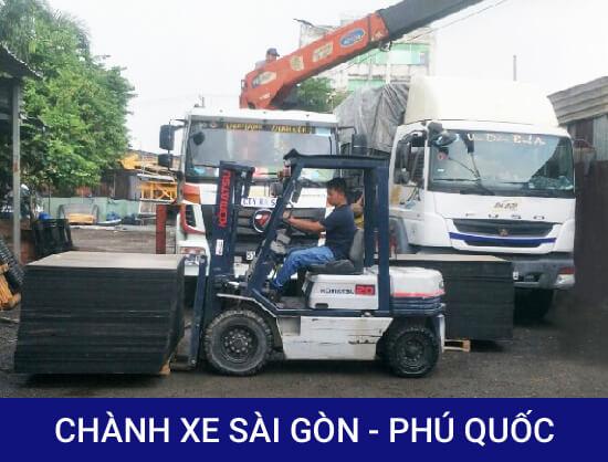 Chành xe Sài Gòn Phú Quốc